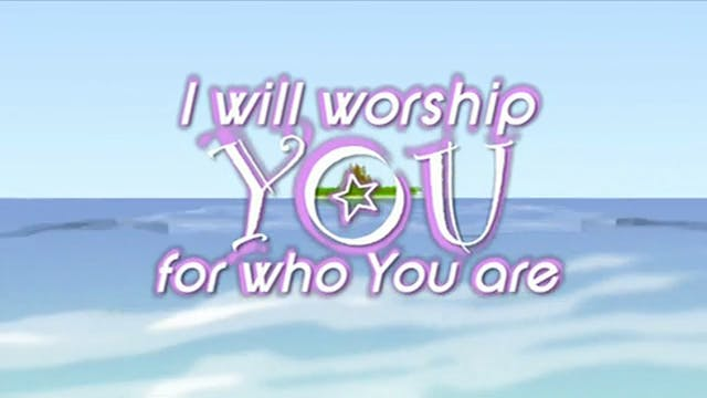 Common Video - WORSHIP: For Who You Are (BACKING)