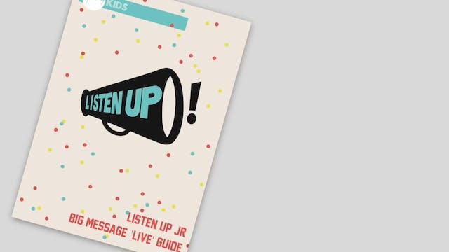 ListenUp! Promo Video