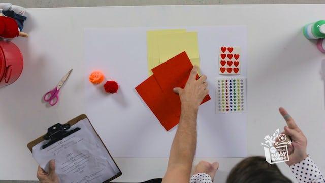 Pom Poms, Card & Stickers