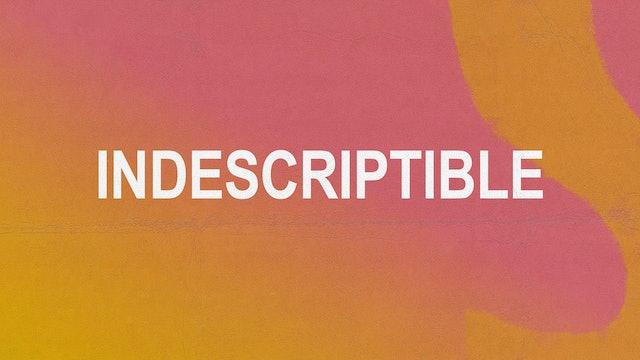 Indescriptible (Studio)