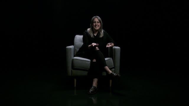Kristin Mateika in the White Chair