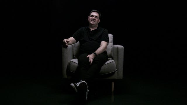 Tony Irving in the White Chair