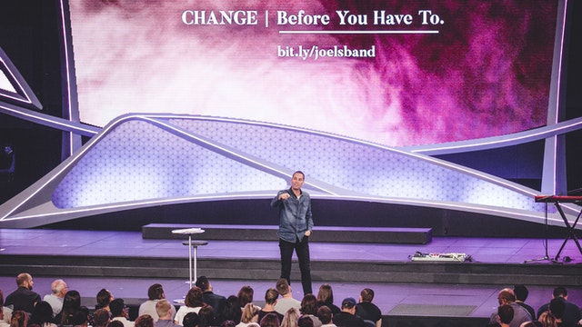 Change Before You Have To - Joel A'Bell