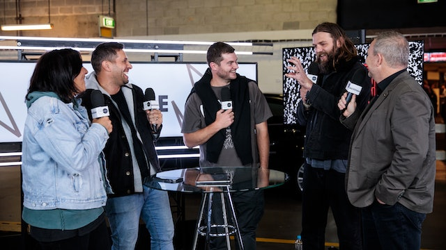 Day 2 - Interview with Rich Langton & Joel Houston and Hillsong UNITED