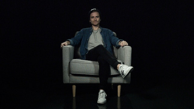 Sebastian Strand in the White Chair