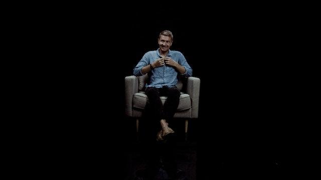 Jay Argaet in the White Chair