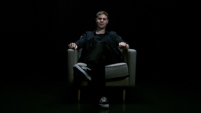 Harrison Wood in the White Chair