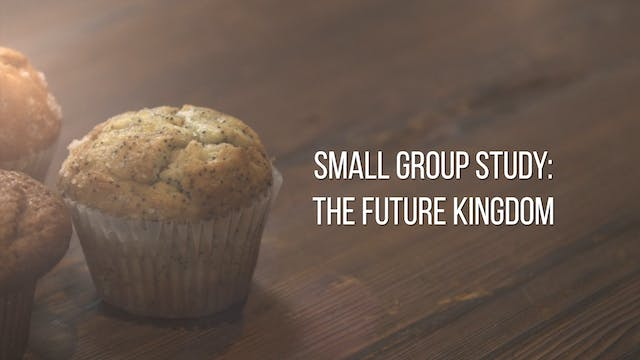 Small Group Study Week 13 - The Futur...