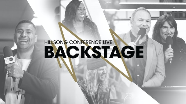 Hillsong Conference Live Backstage
