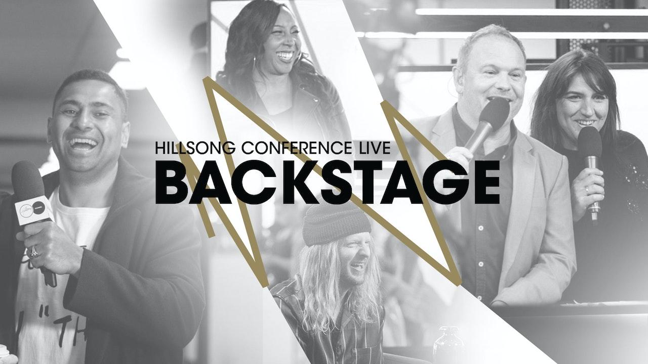 Hillsong Conference Live Backstage