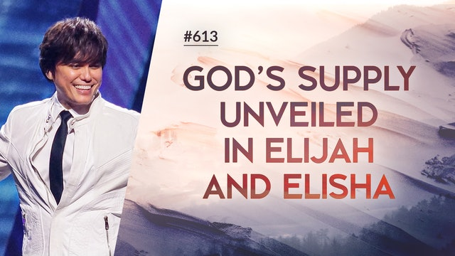 God's Supply Unveiled In Elijah And Elisha