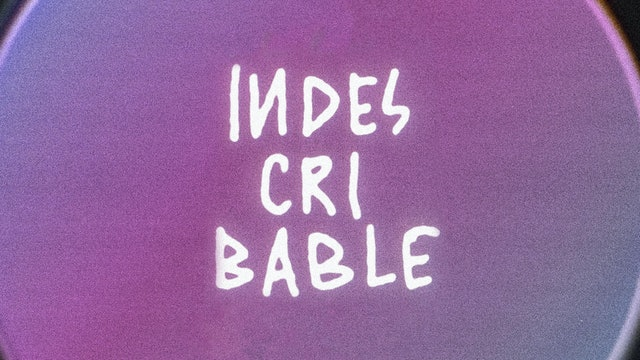 Indescribable (Lyric Video)