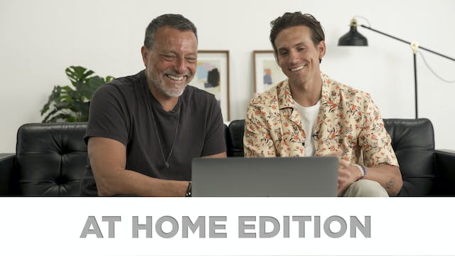 At Home Edition: A Posture of Generos...
