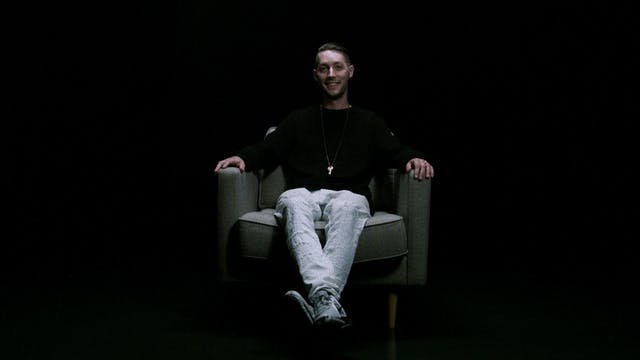JP Starra in the White Chair