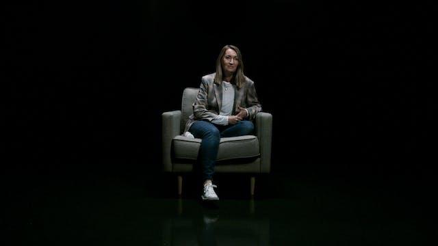 Leanne Thomas in the White Chair