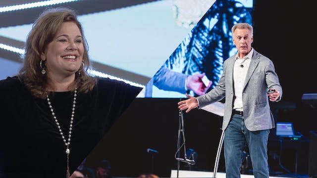 Charles Nieman and Lisa Harper