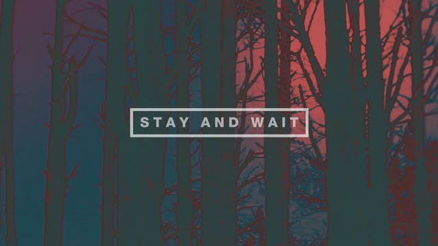 Stay and Wait (Lyric Video)
