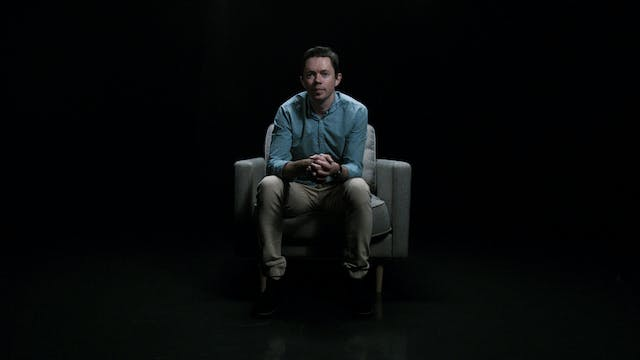 Stephen Pippett in the White Chair