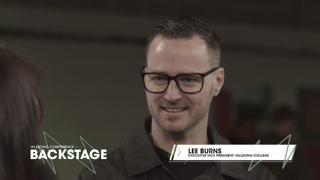Day 3 - Lee Burns & Hillsong College