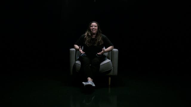 "Nicole ""Noodle"" Scott in the White Chair"