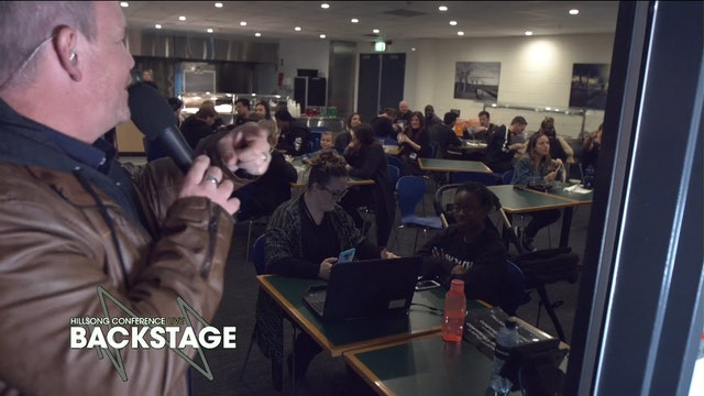 Day 3 - Backstage