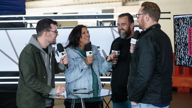 Day 2 - Interview with Darren Kitto & Ben Field, from Hillsong Channel