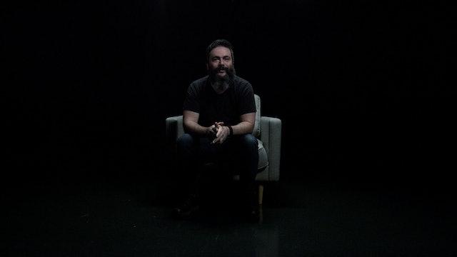 Josh Bonett in the White Chair