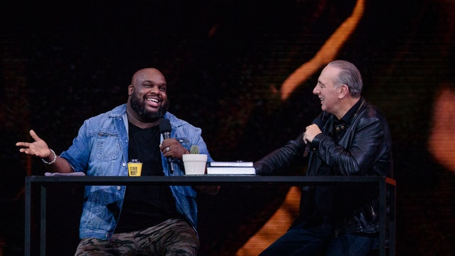 Day 3 - Brian Houston & John Gray Interview