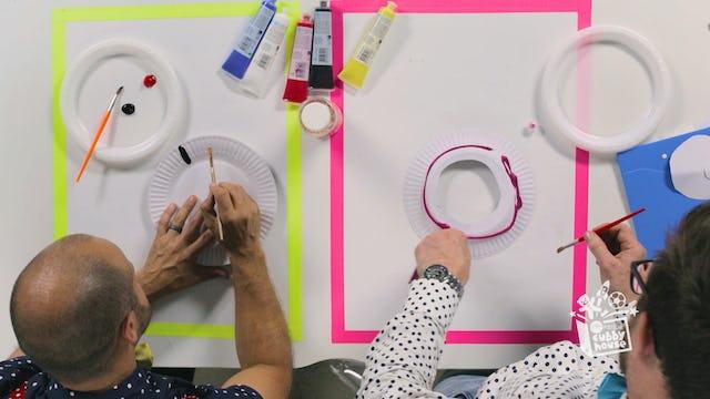 Paper Plates, Paint & Sprinkles