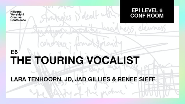 The Touring Vocalist with the Hillsong Team