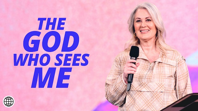 The God Who Sees Me by Donna Crouch