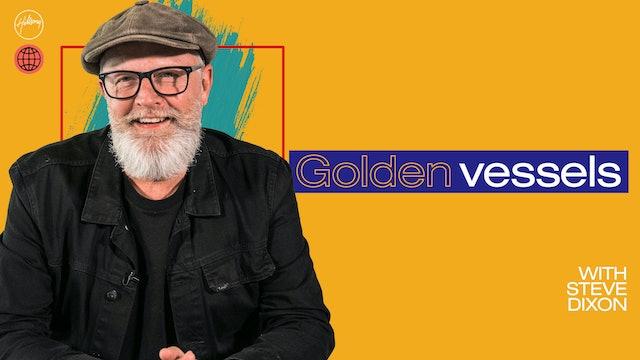 Golden Vessels by Steve Dixon