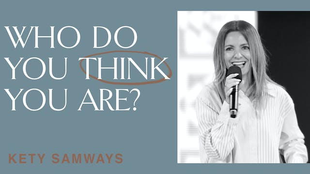 Who Do You Think You Are? by Kety Samways