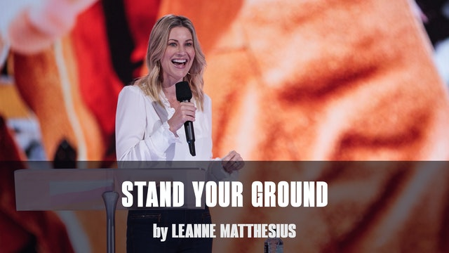 Stand Your Ground by Leanne Matthesius