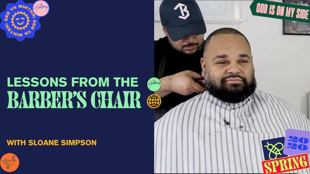 Lessons from the Barber's Chair by Sloane Simpson