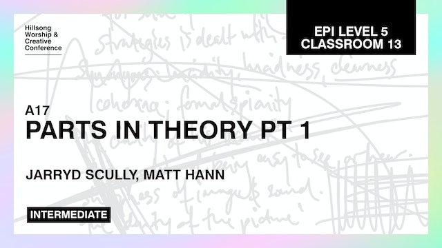 Parts In Theory Pt. 1 with Jarryd Scully and Matt Hann