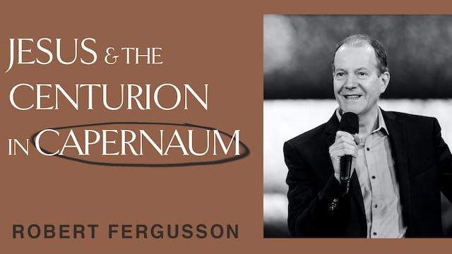 Jesus & The Centurion In Capernaum by Robert F