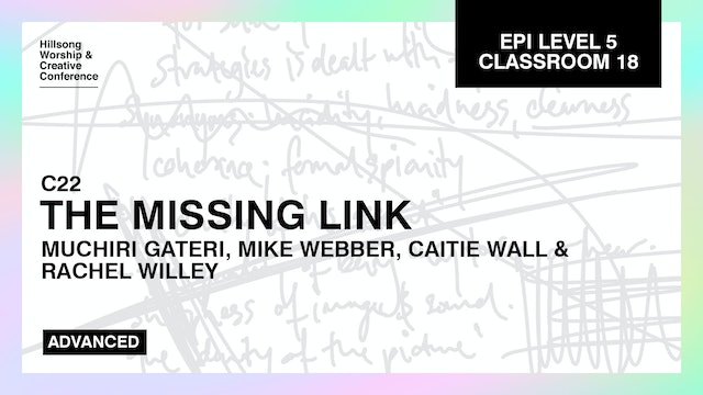 The Missing Link with Muchiri Gateri, Mike Webber, Caitie Wall, Rachel Willey