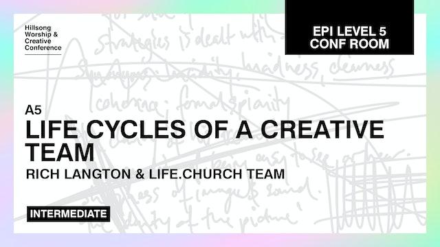 Life Cycles Of A Creative Team by Life Church Team