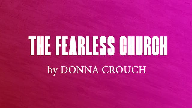 The Fearless Church by Donna Crouch