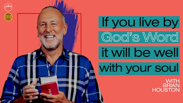 If You Live By God's Word It Will Be ...