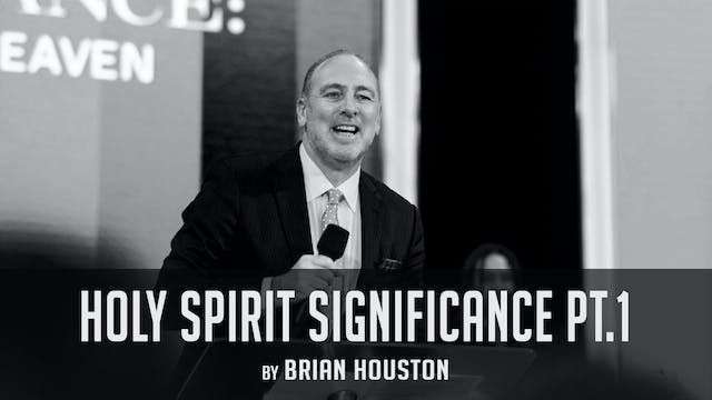 Holy Spirit Significance Pt.1