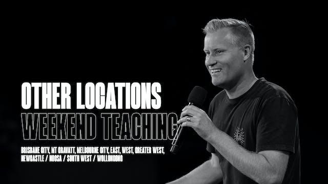 Weekend Teachings | OTHER LOCATIONS