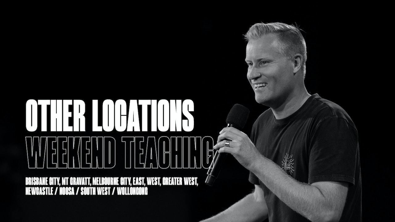 Weekend Teachings   OTHER LOCATIONS
