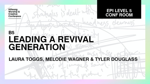 Leading A Revival Generation with the Hillsong Youth Team