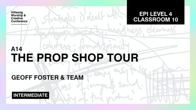 The Prop Shop Tour with Geoff Foster and Team