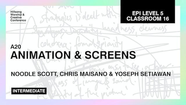 Animation And Screens by Nicole Scott, Chris Maisano And Yoseph Setiawan