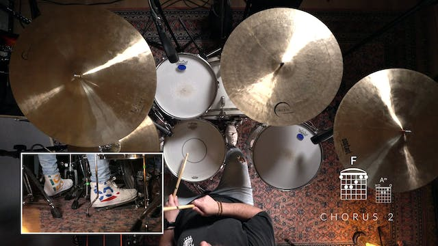 7. I WILL PRAISE YOU: DRUMS (MINUS)