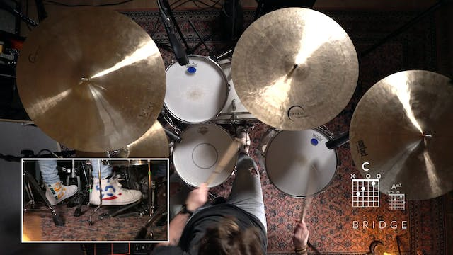 3. COME ALIVE: DRUMS (MINUS)
