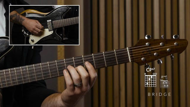 12. HE SHALL REIGN: GUITAR 1 (MINUS)